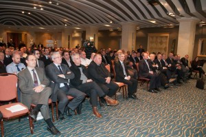 The packed Ballroom of Le Méridien St Julians Hotel & Spa, venue of the AGM