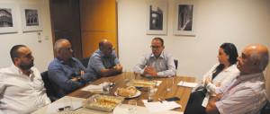 MDA meeting Chris Said 2